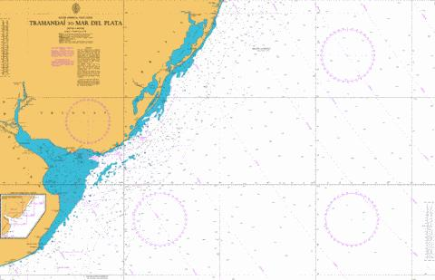 Tramandai to Mar del Plata Marine Chart - Nautical Charts App