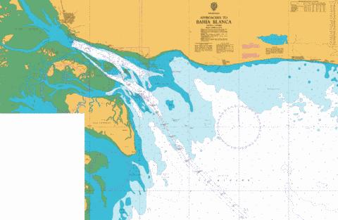 Approaches to Bahia Blanca Marine Chart - Nautical Charts App