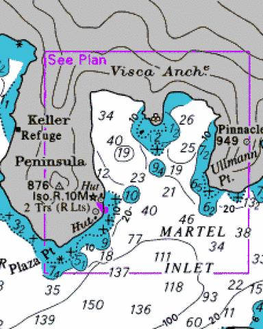 Visca Anchorage Marine Chart - Nautical Charts App