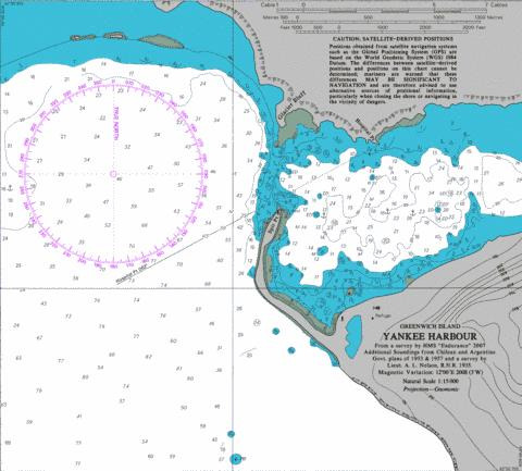 Yankee Harbour Marine Chart - Nautical Charts App