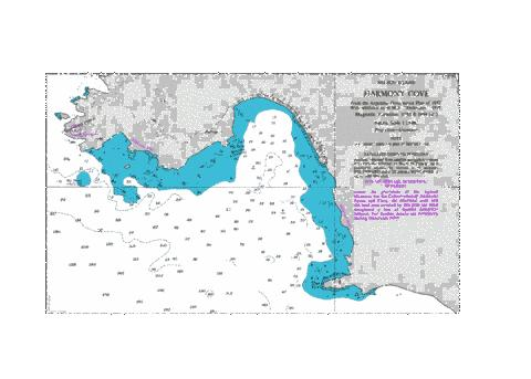 Harmony Cove Marine Chart - Nautical Charts App