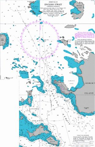English Strait (Northern Entrance) Marine Chart - Nautical Charts App