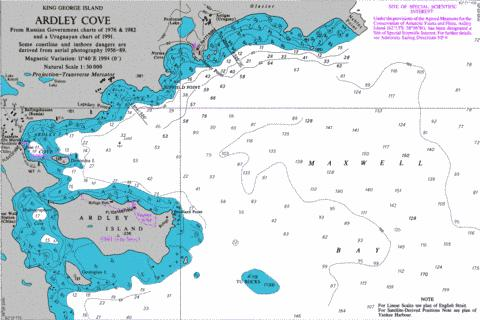 Ardley Cove Marine Chart - Nautical Charts App