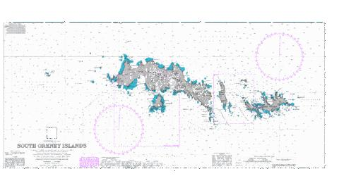 South Orkney Islands Marine Chart - Nautical Charts App