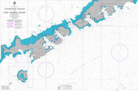 Livingston Island to King George Island Marine Chart - Nautical Charts App
