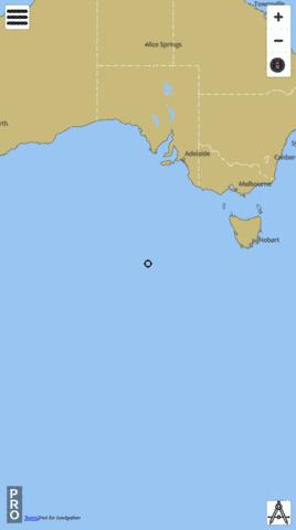 Australia - Southern Approaches Marine Chart - Nautical Charts App