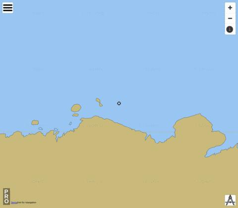 Australian Antarctic Territory - Mill Island to Hatch Island Marine Chart - Nautical Charts App