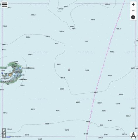 Bismarck Sea - Cell 13 Marine Chart - Nautical Charts App