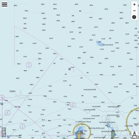 Australia - Northern Territory - North Coast - Northern Approaches to Cobourg Peninsula Marine Chart - Nautical Charts App
