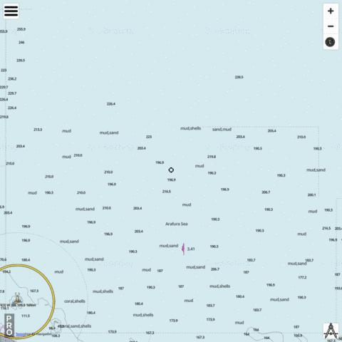 New Year Island Marine Chart - Nautical Charts App