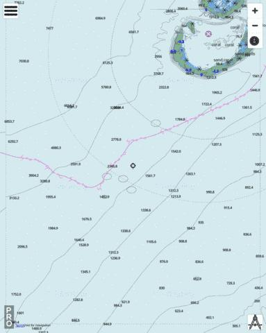 Indian Ocean - Southern Approaches to Scott Reef Marine Chart - Nautical Charts App