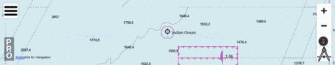 Indian Ocean - Cell 5 Marine Chart - Nautical Charts App