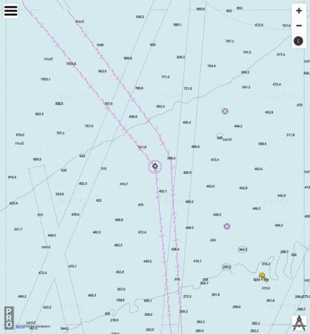 Indian Ocean - Cell 11 Marine Chart - Nautical Charts App