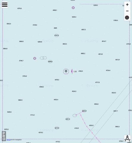 Indian Ocean - Cell 16 Marine Chart - Nautical Charts App