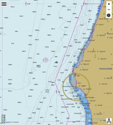 Western Australia - Point Cloates Marine Chart - Nautical Charts App