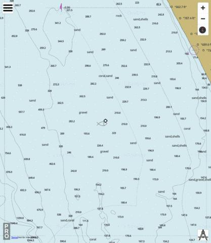 Western Australia - Cell 1 Marine Chart - Nautical Charts App