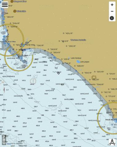 Western Australia - Cape Leeuwin To Point D'Entrecasteaux Marine Chart - Nautical Charts App