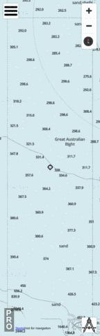 South Australia - Great Australian Bight Cell 8 Marine Chart - Nautical Charts App
