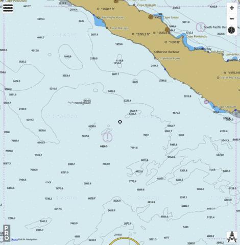 Bismarck Sea New Ireland West Coast Marine Chart Au Au404151