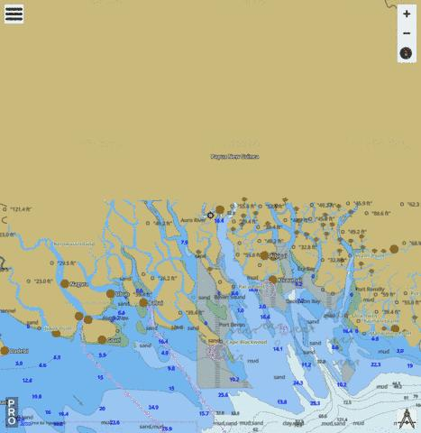 Gulf of Papua - Deception Bay Marine Chart - Nautical Charts App