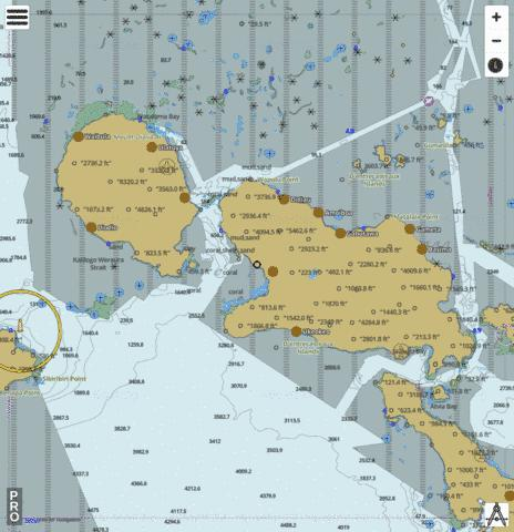 Solomon Sea - Normanby Island to Goodenough Island Marine Chart - Nautical Charts App