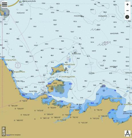 Northern Territory - Goulburn Islands Marine Chart - Nautical Charts App