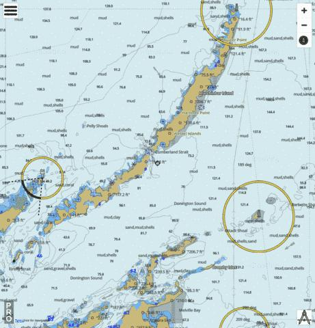 Arafura Sea - Wessel Islands Marine Chart - Nautical Charts App