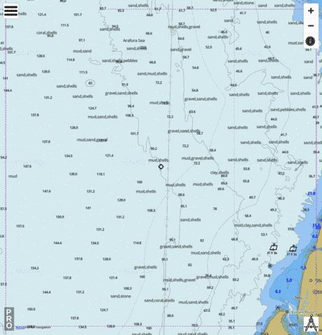 "Queensland - Gulf of Carpentaria - ""North-South"" Transit Marine Chart - Nautical Charts App"