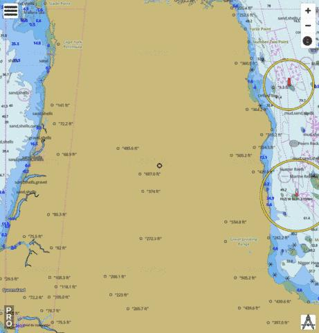 Australia - Queensland - Great Barrier Reef - Viking Reef to Tern Islet Marine Chart - Nautical Charts App