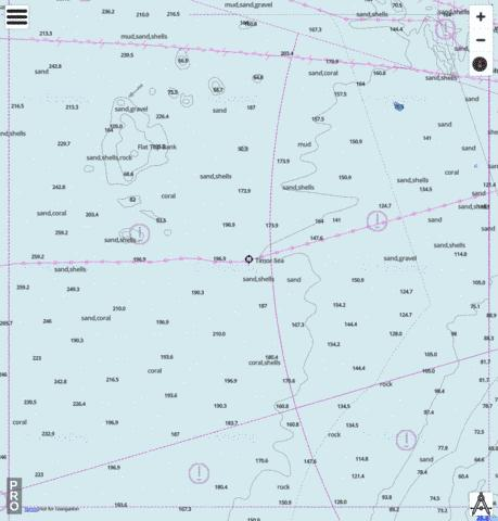 Timor Sea - South Western Approaches to Beagle Gulf Marine Chart - Nautical Charts App