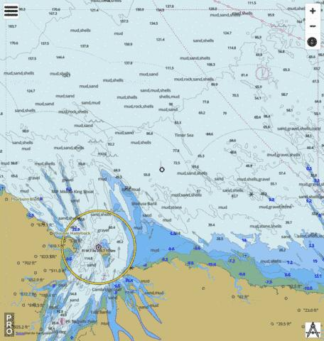 Western Australia - Cambridge Gulf Marine Chart - Nautical Charts App