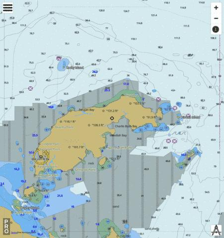 Gulf of Carpentaria - Wellesley Islands Marine Chart - Nautical Charts App