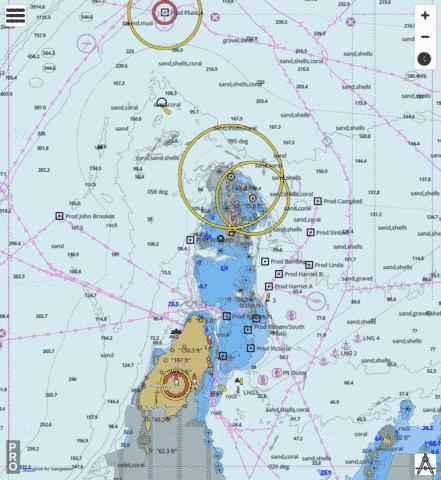 Australia - Western Australia - Montebello Islands and Barrow Island Marine Chart - Nautical Charts App