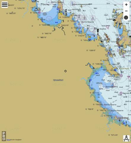 Australia - Queensland - Great Barrier Reef - Repulse Bay to Gloucester Island Marine Chart - Nautical Charts App