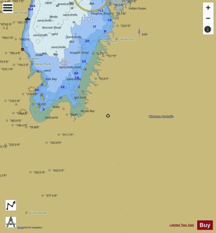 Western Australia Exmouth Gulf Marine Chart Auau423114