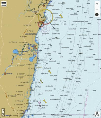 Coral Sea - Wooli Wooli Rvier to Evans Head Marine Chart - Nautical Charts App