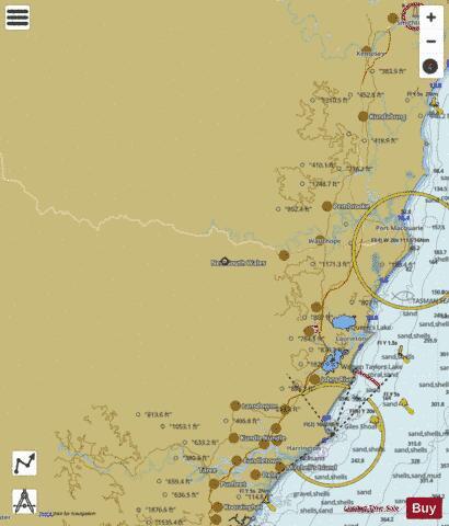 Tasman Sea - Crowdy Head (Marine Chart : AU_AU432152) | Nautical