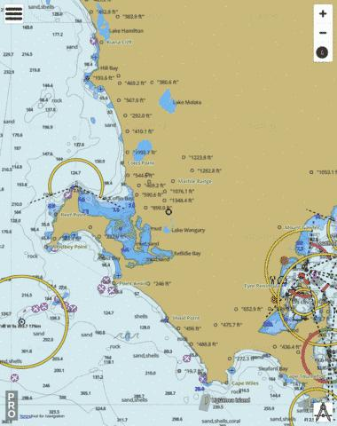 South Australia - Great Australian Bight - Coffin Bay to Sleaford Bay Marine Chart - Nautical Charts App