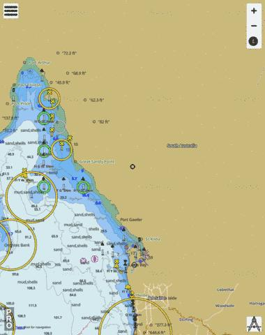 Australia - South Australia - Gulf St Vincent - Approaches to Port Adelaide Marine Chart - Nautical Charts App