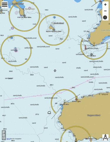 South Australia - Neptune Islands to Investigator Strait Marine Chart - Nautical Charts App