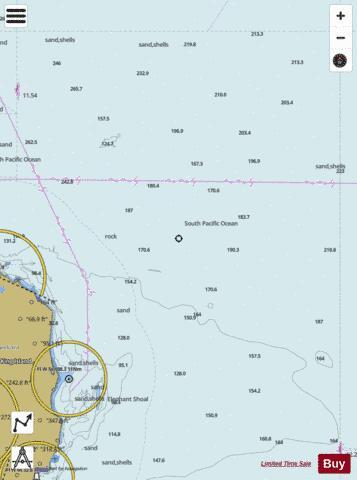 Map Of Australia King Island.Australia Bass Strait King Island North East Marine Chart
