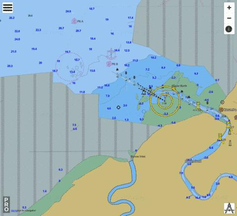 Australia - Queensland - Gulf of Carpentaria - Karumba and approaches Marine Chart - Nautical Charts App