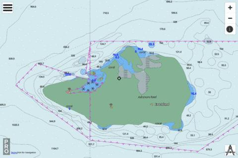 Western Australia - North West Shelf - Ashmore Reef Marine Chart - Nautical Charts App