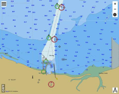 Australia - Western Australia - Port of Ashburton Marine Chart - Nautical Charts App