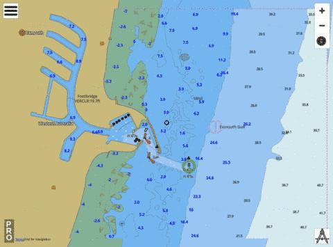 Western Australia - Exmouth Gulf - Exmouth Boat Harbour Marine Chart - Nautical Charts App