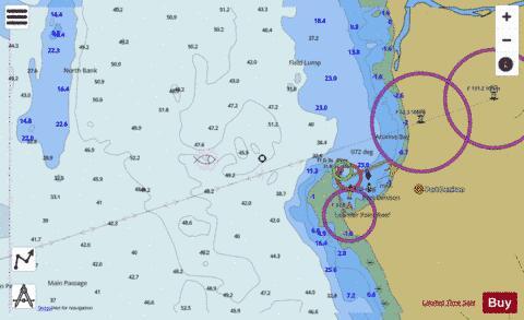 Map Of West Coast Australia.Western Australia West Coast Port Denison Marine Chart