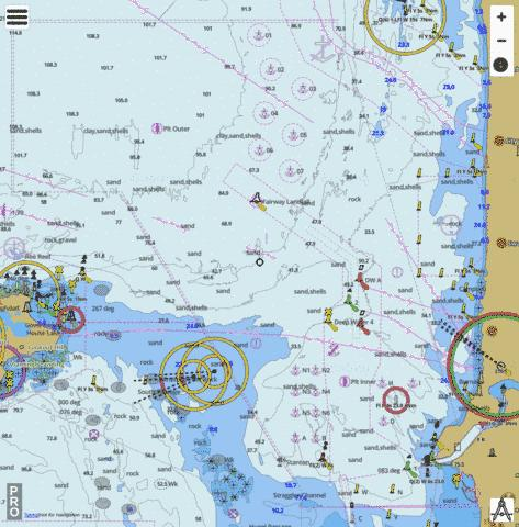 australia western australia fremantle marine chart nautical charts app