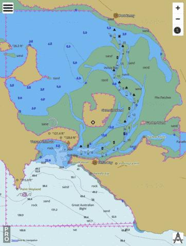 Australia - South Australia - Venus Bay Marine Chart - Nautical Charts App