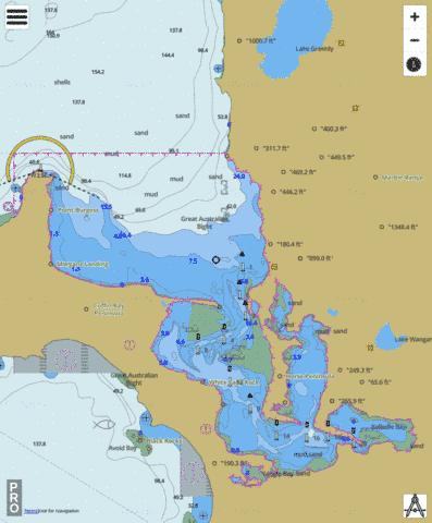 South Australia - Coffin Bay Marine Chart - Nautical Charts App