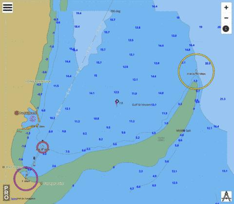 Australia - South Australia - Gulf St Vincent - Port Vincent Marine Chart - Nautical Charts App